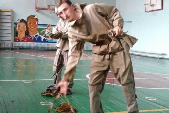 """Подготовка к соревнованиям """"Будущий воин"""""""