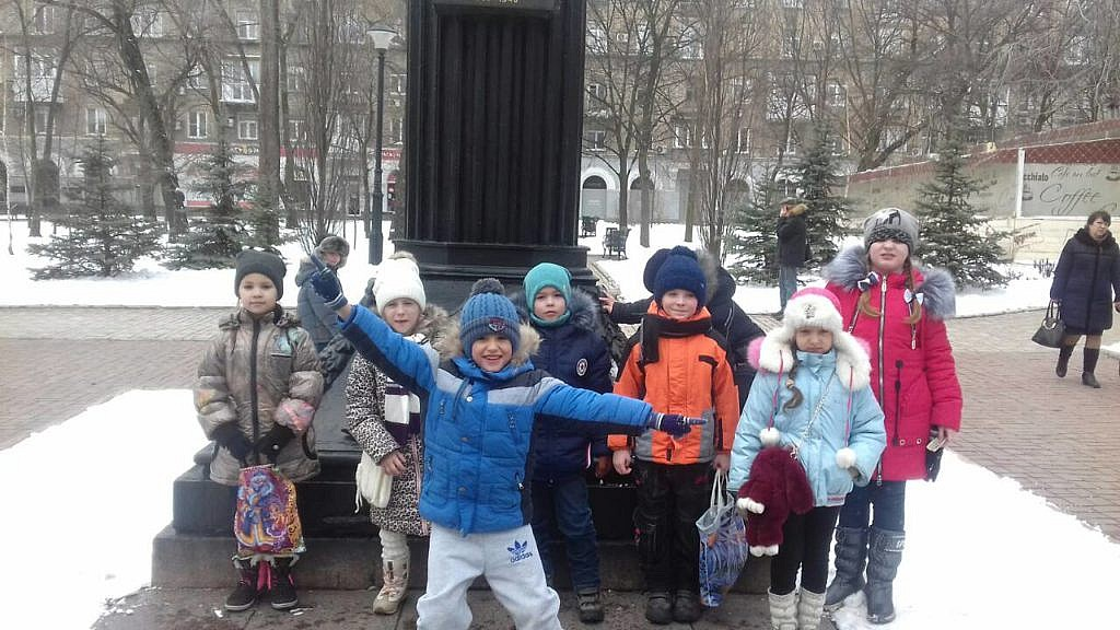 Экскурсия по зимнему Донецку